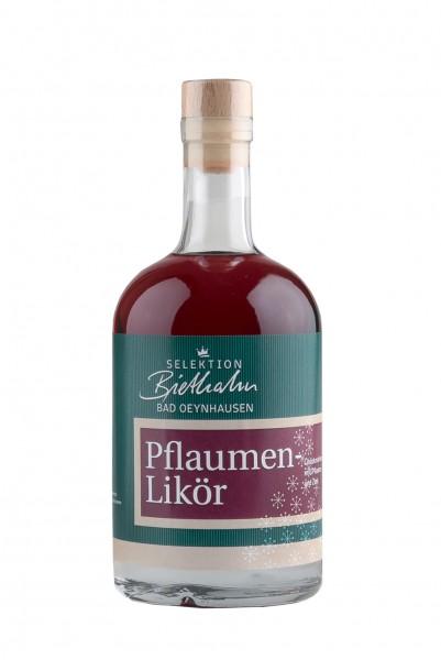 "Bad Oeynhausener Pflaumenlikör 18,0% Vol. ""Selektion Biethahn"""