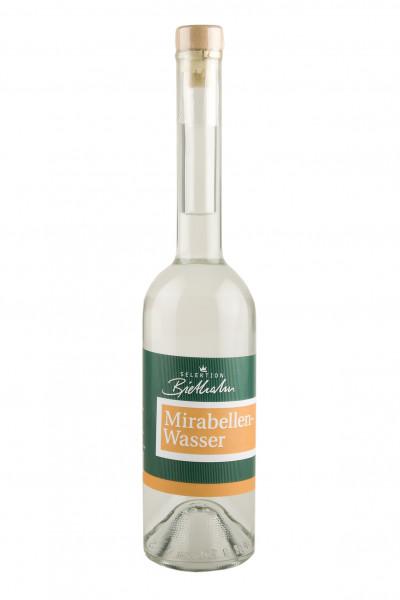 """Mirabellenwasser 40% Vol. """"Selektion Biethahn"""" 0,50l"""