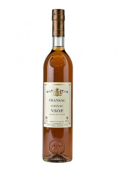 Cognac Fransac VSOP Rare Fine 12YO 40% Vol., Baron de St. Feux