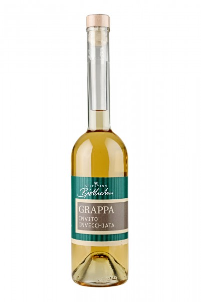 "Grappa Invito Invecchiata 43% Vol., ""Selektion Biethahn"""