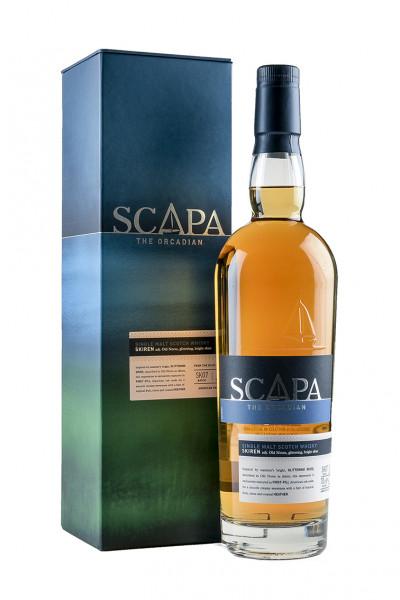 Scapa Skiren, Single-Malt-Whisky 40% Vol. mit Geschenkverpackung