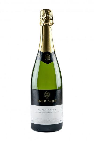 2016 Nobling Sekt extra trocken 12,50% Vol., Weingut Behringer