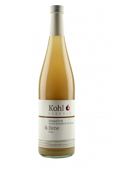 Bergapfelsaft mit Birne - Kohl Essence, Thomas Kohl, Südtirol