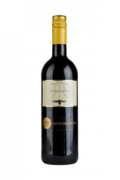 2016 Rioja Crianza Rivallana DOC 13,50% Vol.
