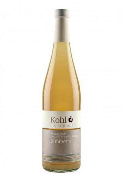 Bergapfelsaft Rubinette - Kohl Gourmet, Thomas Kohl, Südtirol