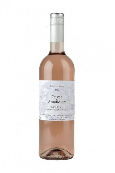 2018 Cinsault Rose - Cuvée des Amandiers IGP 12,0% Vol.