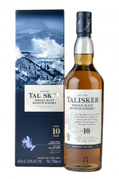 The Talisker 10YO Single Malt Whisky 45,8% Vol.