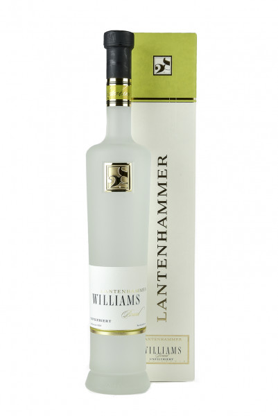 Williams-Christ-Birnen Brand unfiltriert 42% Vol., Destillerie Lantenhammer