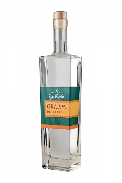 "Grappa Dolcetto 43% Vol., ""Selektion Biethahn"""