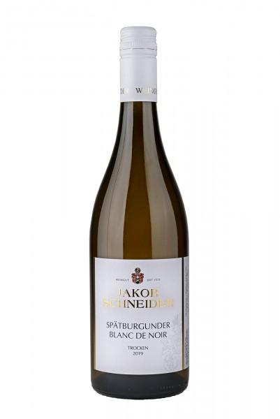 2019 Spätburgunder Blanc de Noir DQ trocken 12,50% Vol., Weingut Jakob Schneider, Nahe