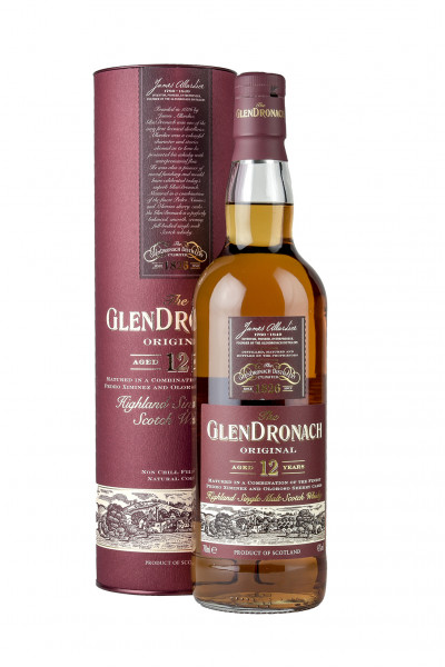 GlenDronach 12YO Single Malt Whisky 40% Vol.