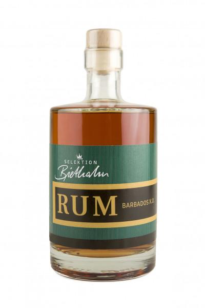 """RUM Barbados X.O. 40% Vol. """"Selektion Biethahn"""" 0,50l"""