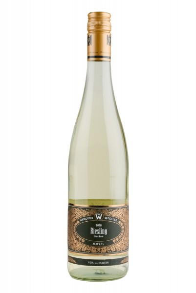 2018 Riesling trocken -Gutswein 12,0% Vol., Weingut Wegeler, Mosel