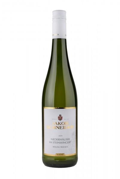 2019 Riesling DQ trocken - Niederhäuser im Steinwingert, 12,00% Vol., Weingut Jakob Schneider, Nahe