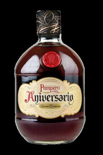 """Rum Pampero Aniversario Reserva Exclusiva """"Extra Anejo"""" 40% Vol."""