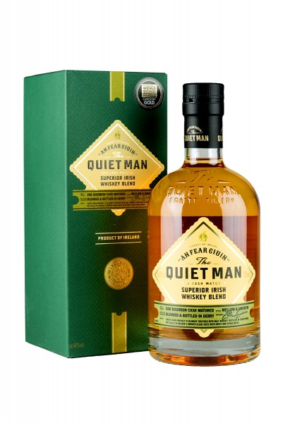 The Quiet Man Superior Whiskey Blend, 40% Vol., Irland
