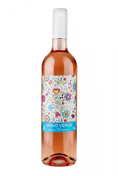 2019 Vinho Verde Rosé DOC 10,50% Vol., Quinta da Lixa, Portugal