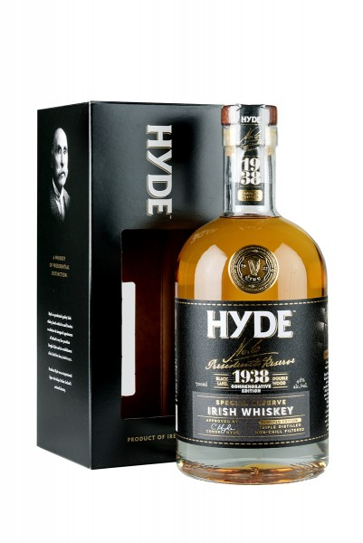 Hyde No. 6 Special Reserve, 46% Vol., Irish Whiskey 0,70l
