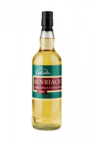 2008 Benriach Single Malt Whisky, 58,10% Vol.