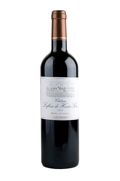 2015 Malbec de Cahors AC 13,5% Vol., Chateau Lafleur de Haute-Serre, George Vigourox, Frankreich