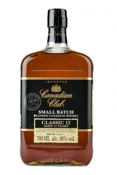Canadian Club 12YO Small Batch Whisky 40% Vol.
