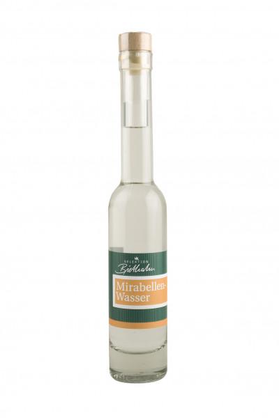 """Mirabellenwasser 40% Vol. """"Selektion Biethahn"""" 0,20l"""