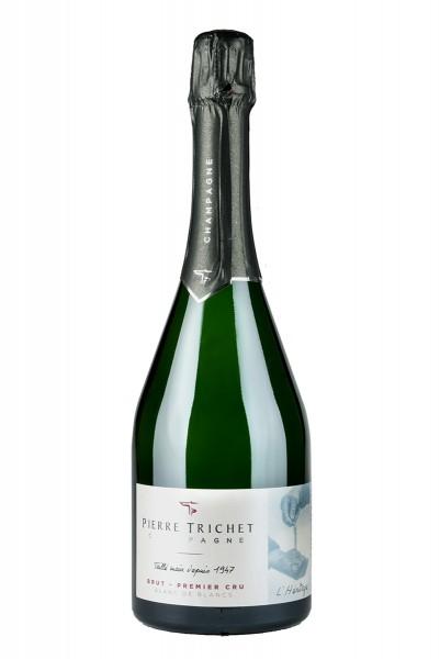 Champagne Pierre Trichet L'Heritage Brut, Blanc de Blanc Premier Cru, Frankreich