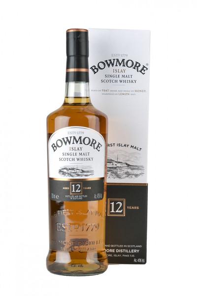 Bowmore 12YO Single Malt Whisky 40% Vol.