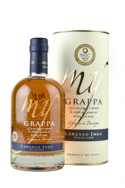 My Grappa Barrique 40% Vol. Selction Inga Lorenzo