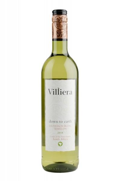 2018 down to earth white 13,0% Vol. Villiera Estate, Südafrika