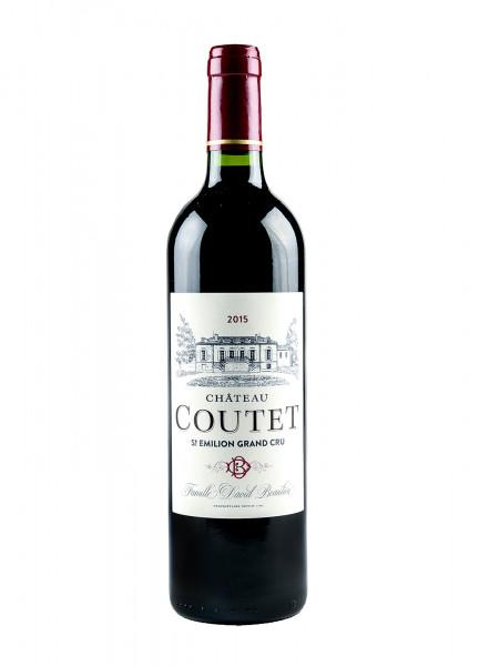 2015 Chauteau Coutet St. Emilion Gran Cru 14% Vol., Familie David Beaulieu