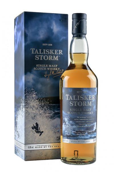 Talisker Storm Single Malt Whisky 45,8% Vol., mit Geschenkverpackung