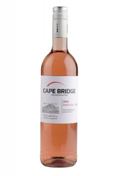 2020 Pinotage Rosé 12,5% Vol., Cape Bridge, Breedekloof, Südafrika