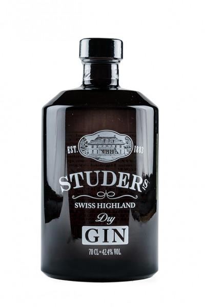 Studers Highland Dry GIN 42,4% Vol., Schweiz
