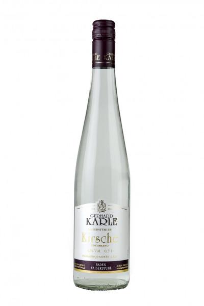 Kirsch Edelbrand 42% Vol., Weingut Karle