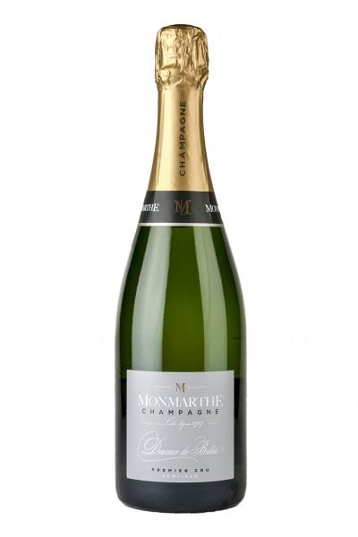 Champagner 1er Cru Brut - Demi-Sec Douceur de Bulles 12,0% Vol., Monmarthe - Champagne