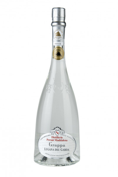 Grappa Lugana del Garda 45% Vol., Distillerie Peroni Maddalena