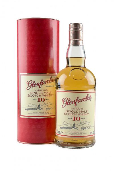 Glenfarclas 10 YO 40% Vol.mit Geschenkverpackung