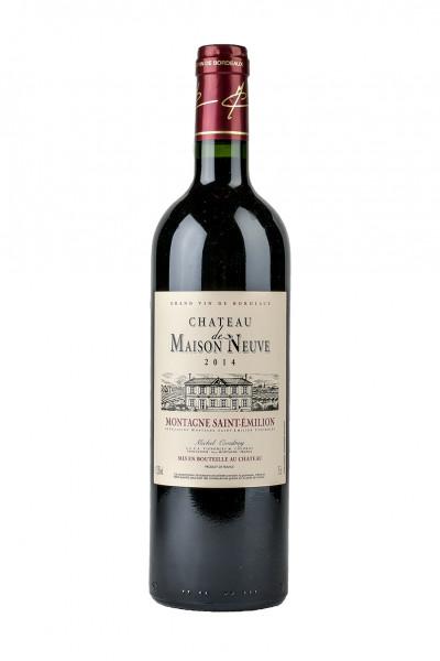 2015 Montagne Saint-Emilion AC 14,0% Vol., Chateau de Maison Neuve - Michel Coudroy