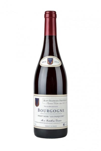 2013 Bourgogne AC Pinot Noir - Les Pasquieres 12,5% Vol., Jean-Francois Protheau