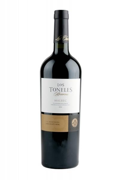 2016 Malbec Reserva 13,5% Vol., Los Toneles, Mendoza, Argentinien